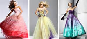 Gallery of colorful wedding dresses