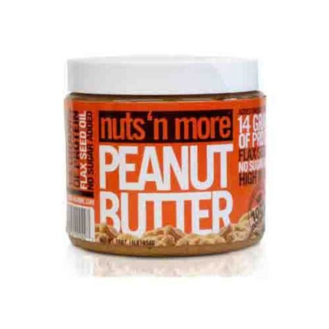 protein n more nuts n more peanut butter protein supplement
