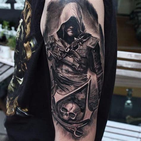 tattoo assassins fatalities list 12 badass assassins creed tattoos tattoodo