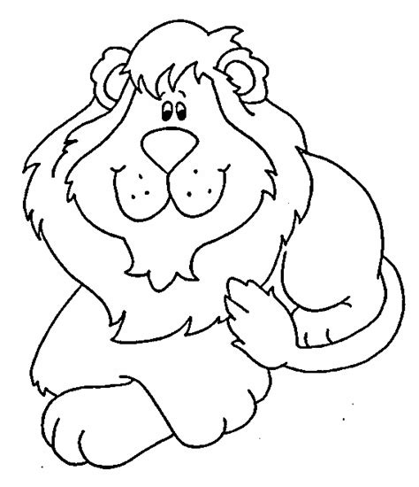 cartoon lion coloring pages baby lion cartoon black and white