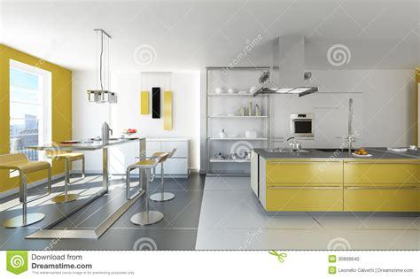 cuisine blanche et jaune cuisine moderne jaune