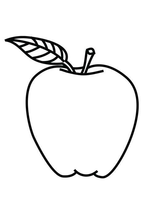 apple coloring page free coloring pages of how to colour apple