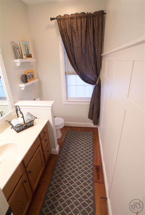 cheap bathroom makeover a bathroom makeover on a budget the diy village