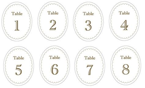free printable table numbers 1 10 8 best images of free printable number labels circle