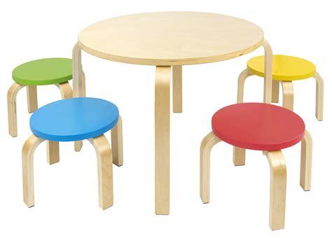 sedia da tavolo per bambini da tavolo per bambini e 4 sedie colorate leomark it