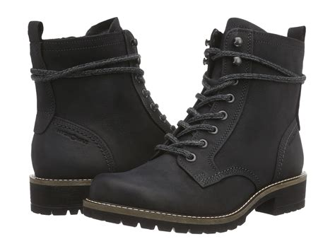 ecco womens boots ecco elaine boot in black lyst