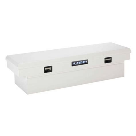in bed truck tool box lund 70 in single lid full size 16 gauge cross bed truck