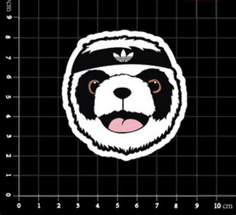 Polobaju Berkerah Logo Adidas Classic adidas original panda logo classic original decal stickers buy in uae