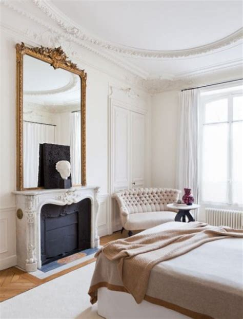 parisian bedroom 27 ways to rock an oversized mirror in your interior