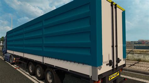 blue trailer krone blue trailer mods world