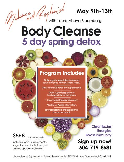 Detox Community by Balance And Replenish Cleanse 5 Day Detox