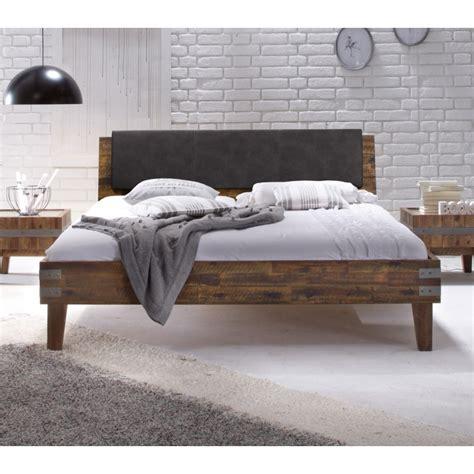 bett verstellbares kopfteil hasena factory line bett mit kopfteil vintage brown 180x200 cm