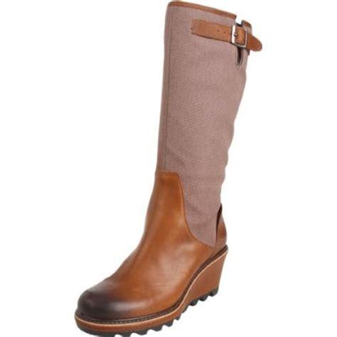 sorel wedge heel boots chagne and heels