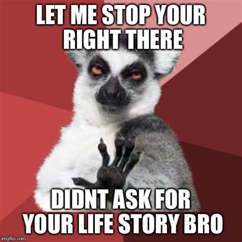 Chill Out Bro Meme - chill out lemur memes imgflip