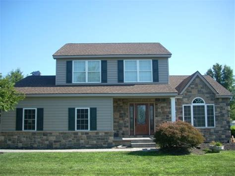 house exteriors with stone and siding nj pa and md before and after exterior gallery portfolio premier remodeling and