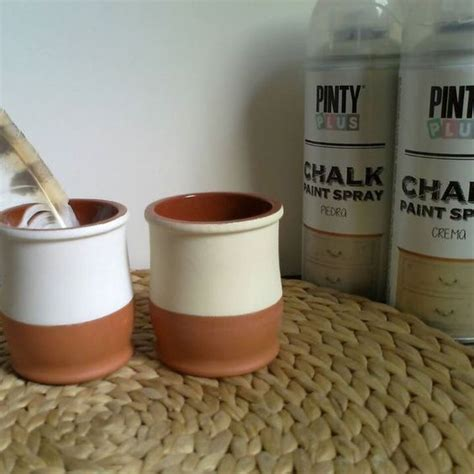 diy chalk paint in a sprayer diy with pintyplus chalk paint spray from madiahandmade