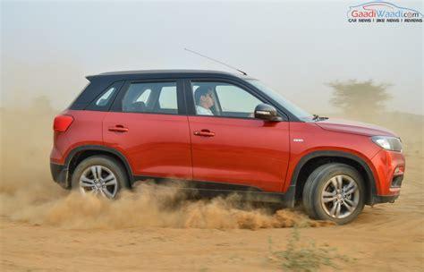 Maruti Suzuki Vitara Maruti Vitara Brezza Completes An Year Of In India