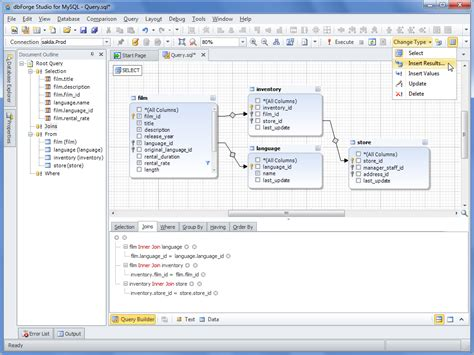 format date mysql query dbforge studio for mysql 7 3 database software