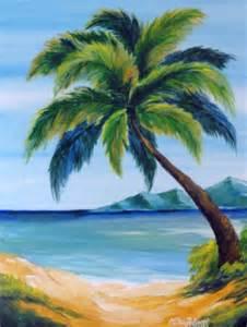 Flowers Cary Nc - seascape palm tree clina polloni