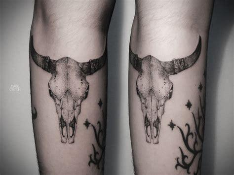 bull skull tattoos bull skull osten inspire se