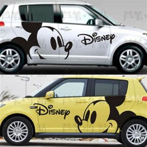 X Design Auto Sticker by Disney Mickey Mouse Car Stickers Car Decals I