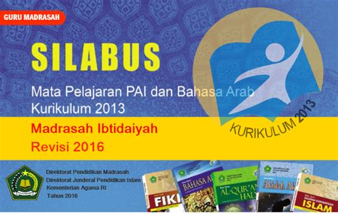Kreatif Belajar Akidah Dan Akhlak Untuk Mi Kelas 4 silabus pai dan bahasa arab kurikulum 2013 untuk mi revisi