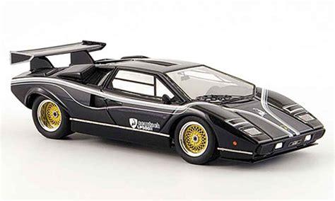 Lamborghini Countach Black Lamborghini Countach Lp 500 R Black Look Smart Diecast