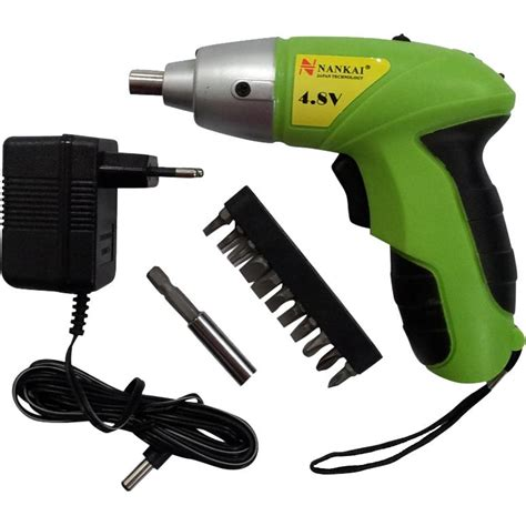 Obeng Elektrik jual obeng elektrik cordless drill set nankai harga murah