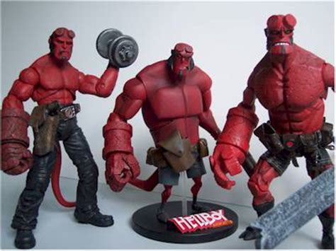 Sale Figure Mezco Hellboy Hell Boy Preview Exclusive Segel blood and iron hellboy figure another pop culture