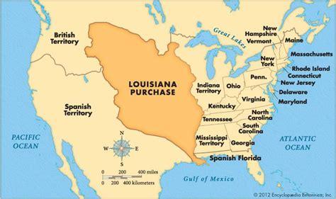 united states map louisiana louisiana purchase britannica