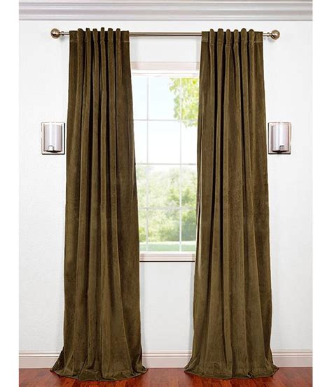 hunter green curtains window treatments huge selection of signature hunter green blackout velvet