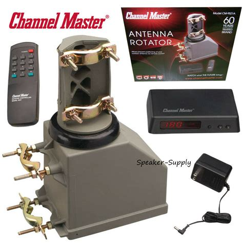 channel master tv motorized antenna rotator system controller remote ham cb 9521 ebay