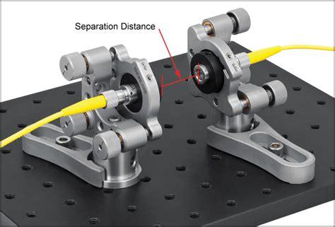 laser diode bar collimation triplet fiber optic collimators couplers