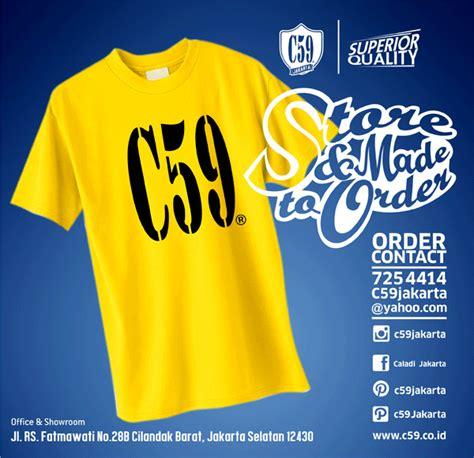 Kaos Katun Polos C59 bahan c59 karakteristik bahan c59 t shirt shirt polo shrit