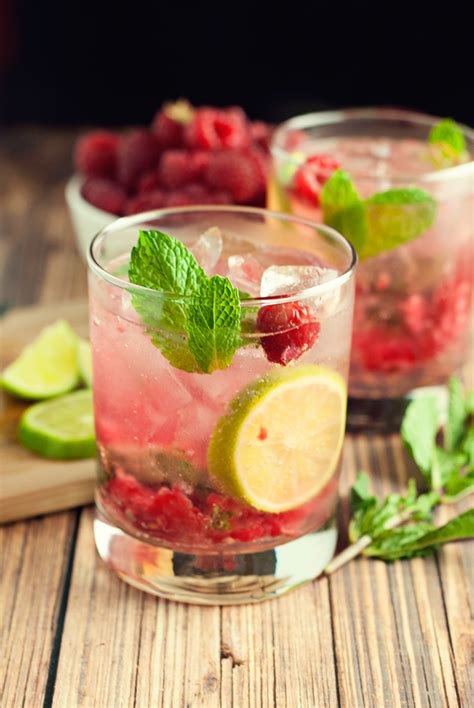 mojito recipe raspberry mojito recipe hairspray and highheels
