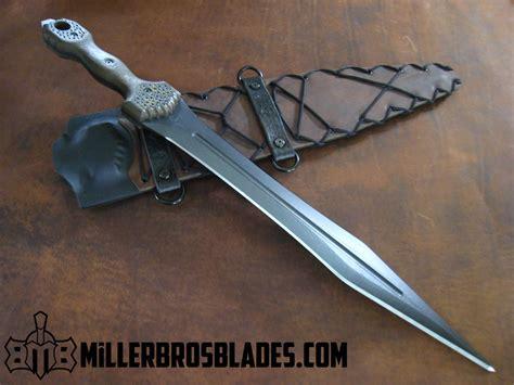 custom knives canada miller bros blades custom handmade knives swords