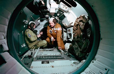 Soyuz Interior by Nasa Project Apollo Soyuz Page 3 Pics About Space