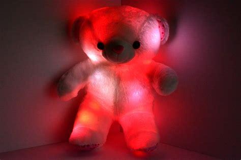 led light  teddy bear eternity led