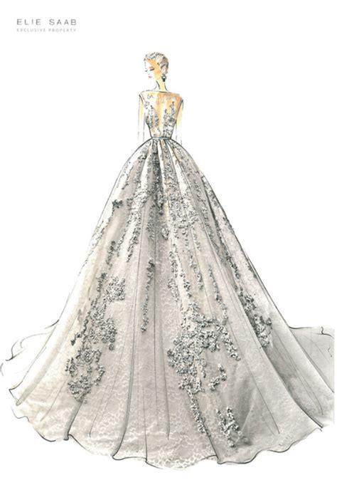 fashion illustration elie saab illustration fashion dresses couture elie saab dixieseoul