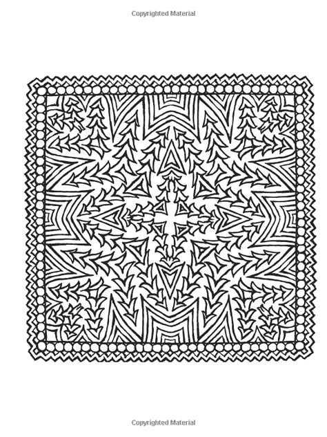 square mandalas creative haven 699 best images about coloring geometric designs on dovers free coloring pages