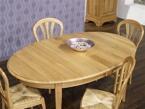 table ovale 170x110 en ch 234 ne massif de style louis