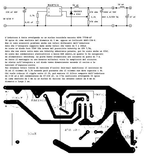 schema elettrico alimentatore switching schema elettrico alimentatore switching regolabile fare