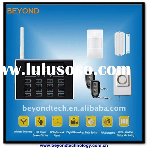 electronic padlock security system gsm alarm system for
