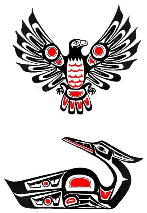 pacific northwest tribal tattoos design eagles25 designs