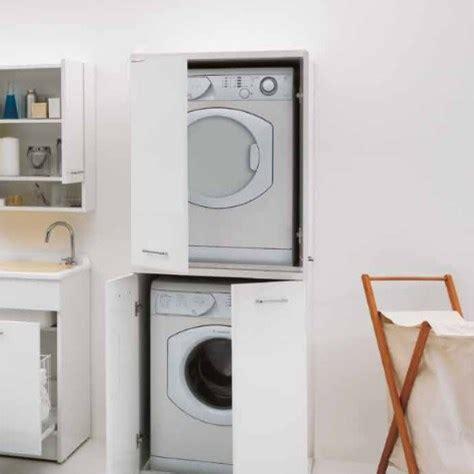 mobile lavatrice asciugatrice mobile per lavatrice e asciugatrice con ante