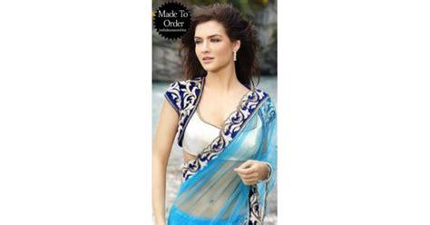 Blouse Premium 21 white koti style designer blouse vpbdb21