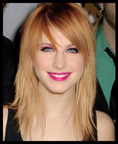 is hailey williams hair naturally red hayley williams natural hair color hair colors idea in 2018