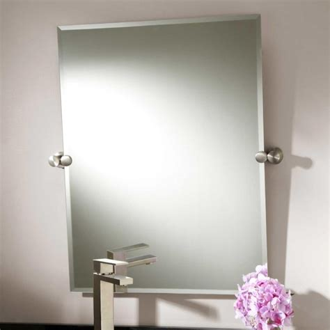 brushed nickel wall mirror bathroom bathroom wall mirrors brushed nickel home design ideas
