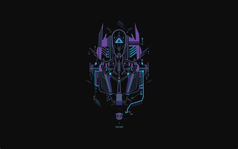 ac wallpaper transformer logo  art illust papersco