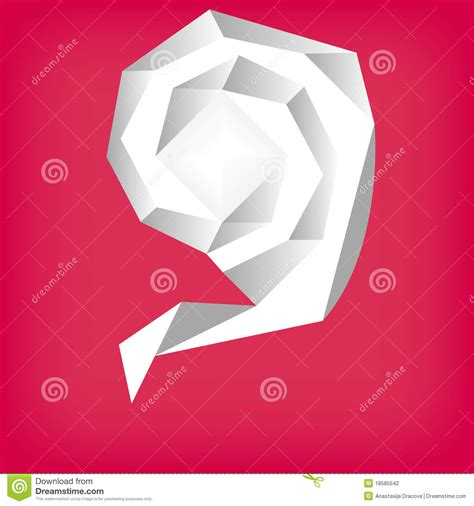 Origami Concept - origami concept theme stock photography image